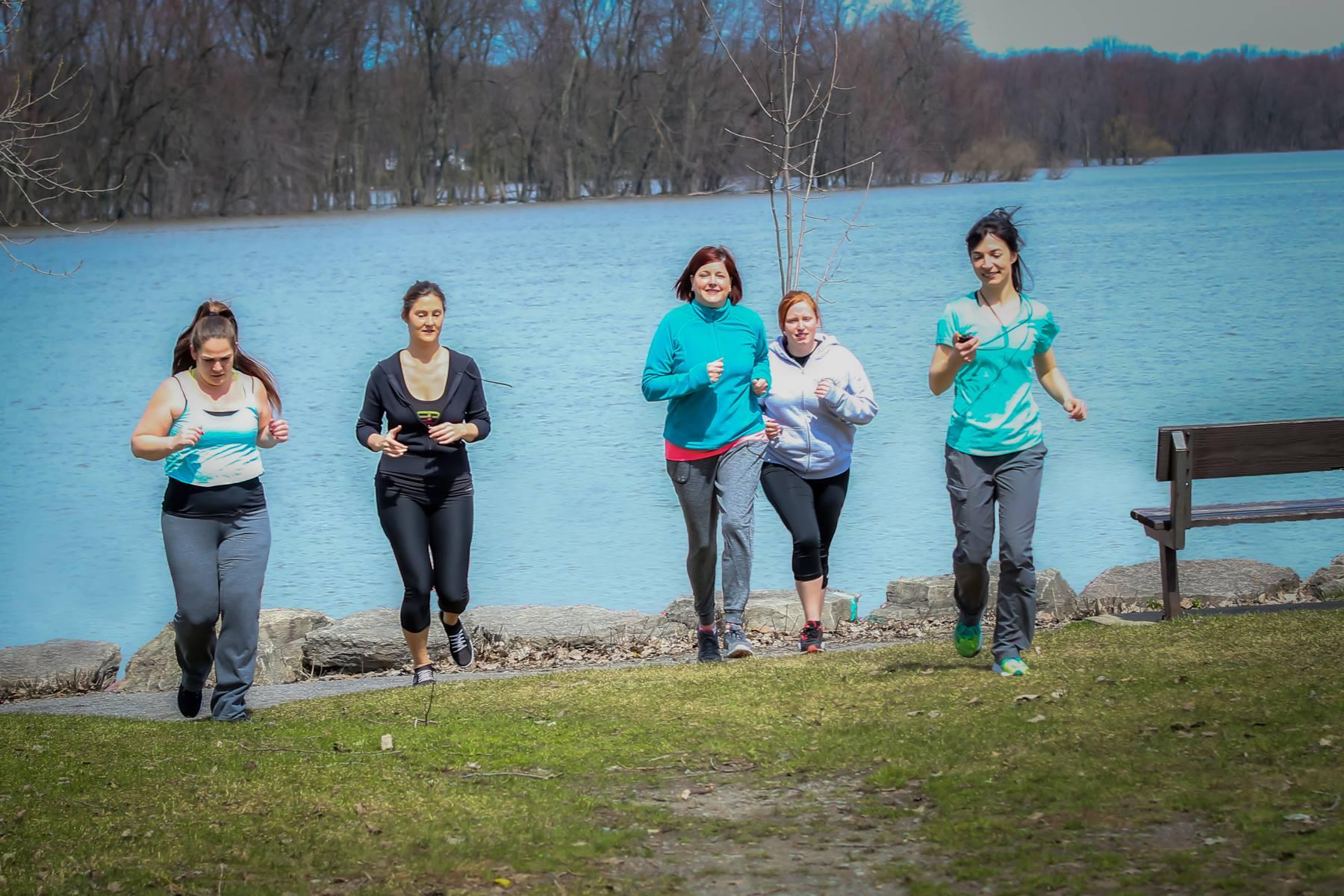 Jogging à l'extérieur
